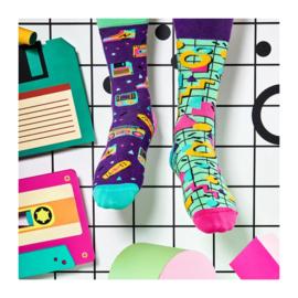 Many Mornings - sokken unisex - mismatched Back to the 90's