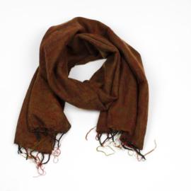 Sjaal met Verhaal - groot - 44 - herfstblad