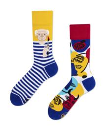 Many Mornings - sokken unisex - mismatched Picassocks