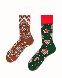 Many Mornings - sokken unisex - mismatched The Gingerbread Man