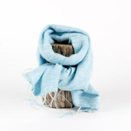 Sjaal met Verhaal - klein - 120 - ibizablauw