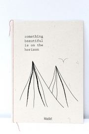 "Madat - poster - wall treasures ""Something beautiful is on the horizon"""