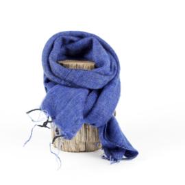 Sjaal met Verhaal - klein - 118 - blauw