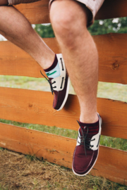Many Mornings - sneaker sokken unisex - mismatched Beetroots