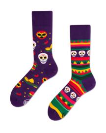Many Mornings - sokken unisex - mismatched Fiësta Mexicana