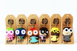 Fairtrade Original - sleutelhanger Jib - de kunstenaar