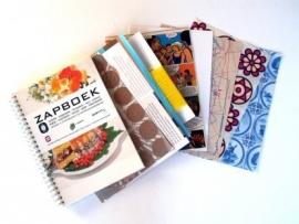 INK&GLUE - zapboek - notitieboek