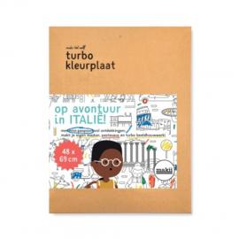 Makii - Turbo Kleurplaat - Italië