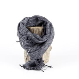 Sjaal met Verhaal - klein - 104 - grijs