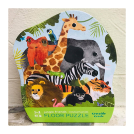 Crocodile Creek - Jungle Friends - vloerpuzzel - 36 stukjes