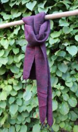 Sjaal met Verhaal - klein - zwart rood