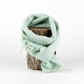 Sjaal met Verhaal - klein - 114 - mintgroen