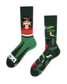 Many Mornings - sokken unisex - mismatched Feel Frida
