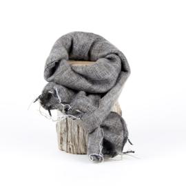 Sjaal met Verhaal - klein - 106 - taupe