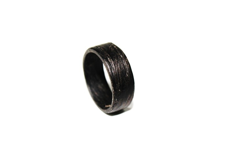Crazyclage - ring dames - wengé hout 16 mm