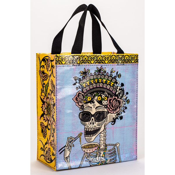 BlueQ - Day of the Dead - handy tote recycle