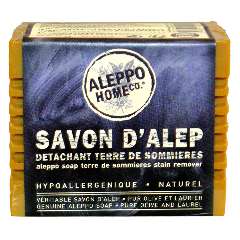 Aleppo - Savon D'Alep - Aleppo Home Co - Vlekkenzeep met Sommières klei