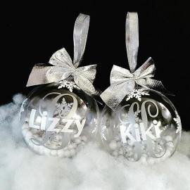 Kerstballen met naam