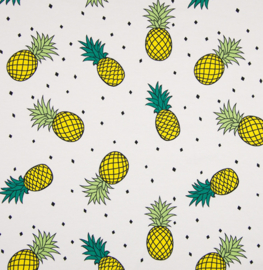 Stofkeuze ananas (tricot/jersey)