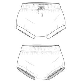Bummie broekje (korte broek)