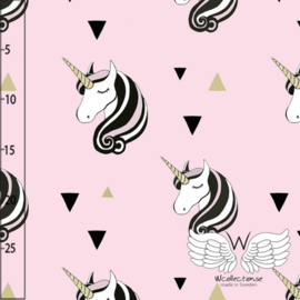 Stofkeuze Unicorn pink