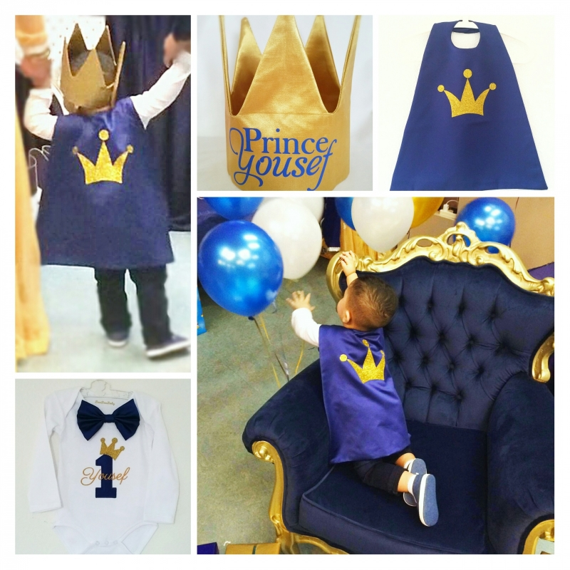 Birthday outfit voor Yousef