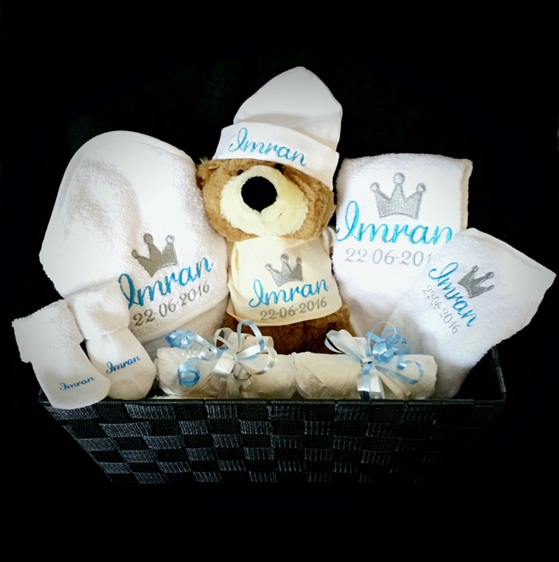 Pakket voor baby Imran