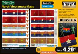 N vietnamese flags (vietnam)