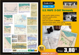 US maps d-day normandy (WW2)