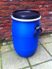 Plastic 30 liter rond nieuw