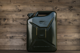 20 liter jerry can staal (groen)
