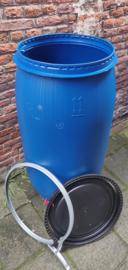 150 liter plastic vat nieuw