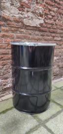 60 liter dekselvat zwart (HT)