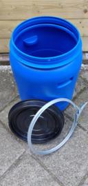 30 liter plastic vat (inwendig handgreep)
