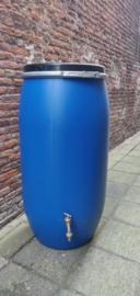 150 liter plastic vat nieuw + kraan