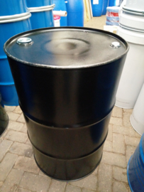 200 liter olievat zwart