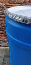 110 liter plastic vat (witte deksel)