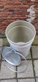 60 liter dekselvat conische coating