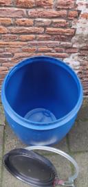 120 liter plastic vat nieuw