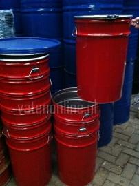 60 liter dekselvat conische