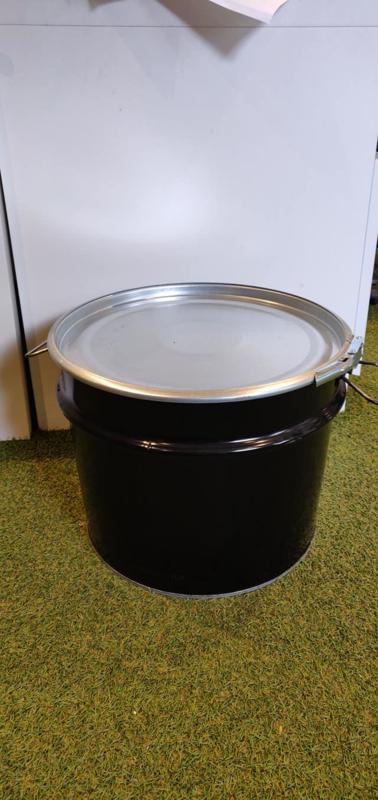 32 liter dekselvat conische deukje