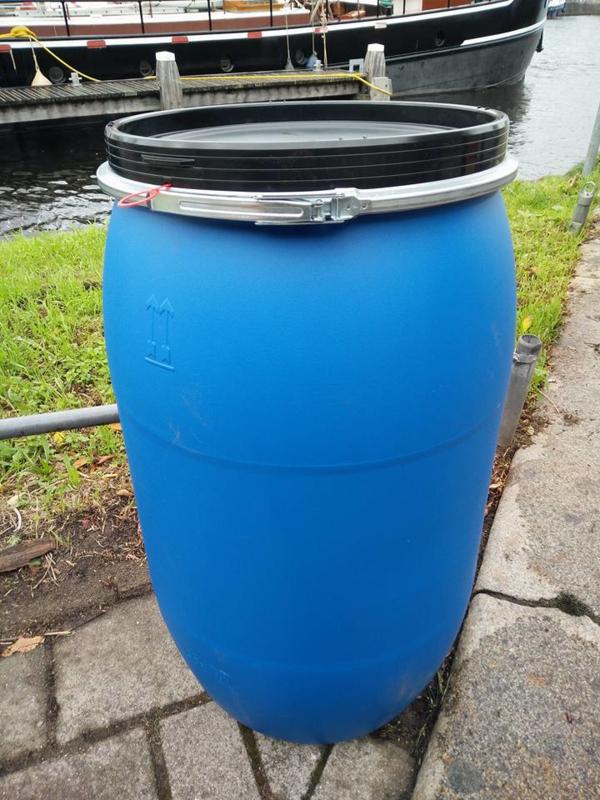 200 liter plastic vat nieuw (klemband)