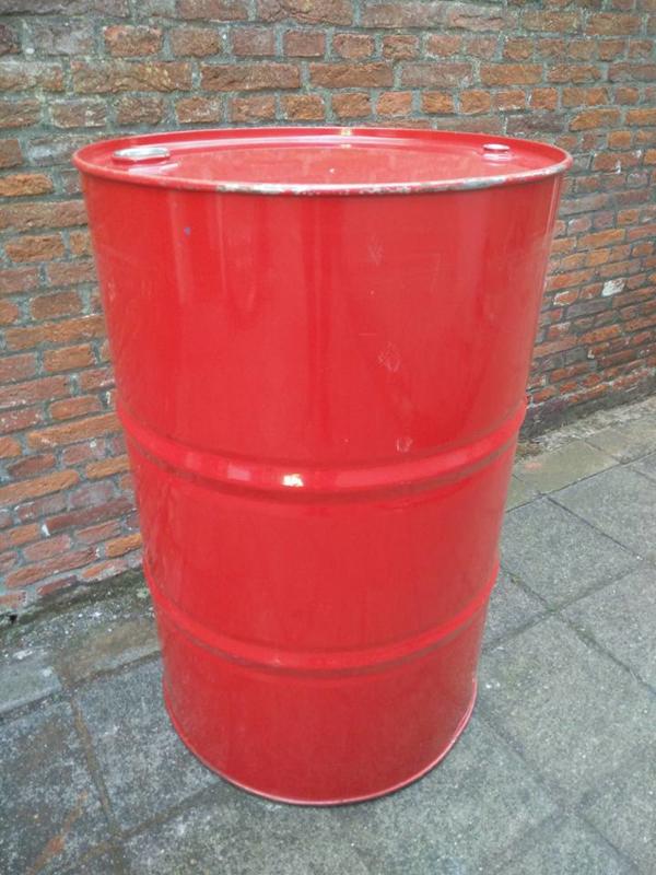 200 liter olievat rood