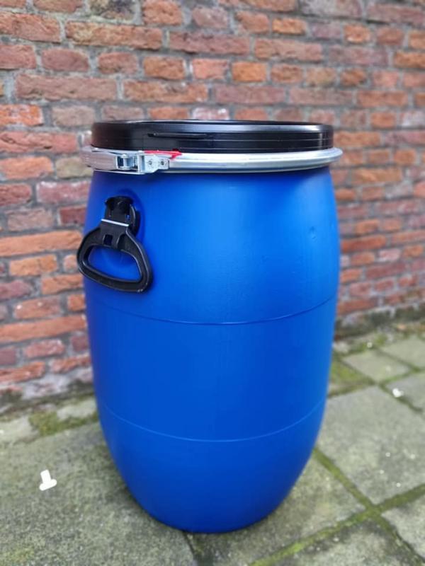 Plastic 60 liter rond nieuw