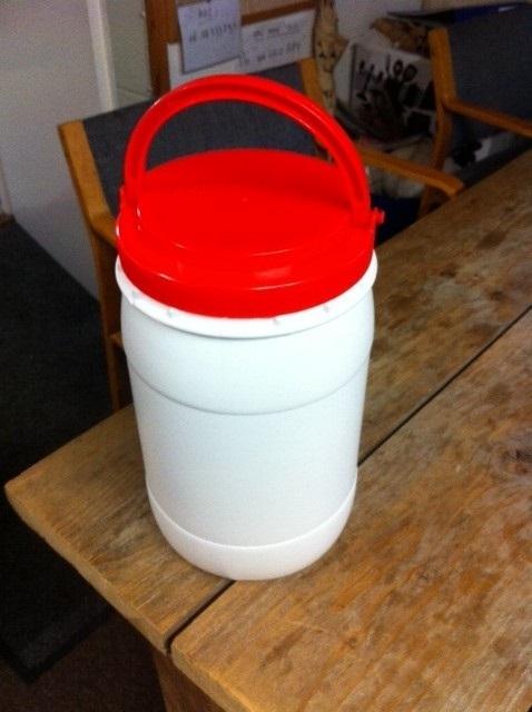 3 liter plastic vat