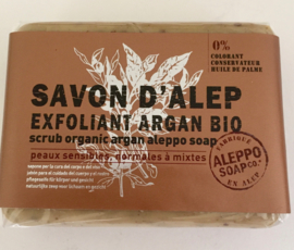 Savon d'Alep  Exfoliant Argan Bio