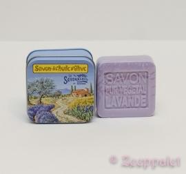 Zeep in blik, Lavende, Provence