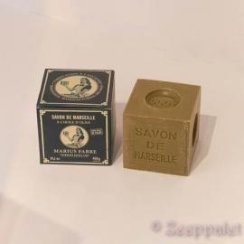Blok Marseille zeep 400 gram, olive