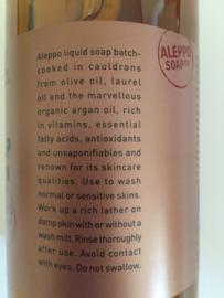Vloeibare Alep zeep met arganolie
