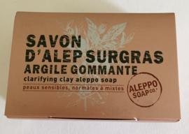 Savon d'Alep Surgras Argile Commante